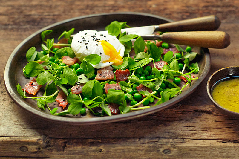 Pea Shoots Salad by John