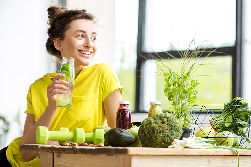 Combat tiredness with healthy eating