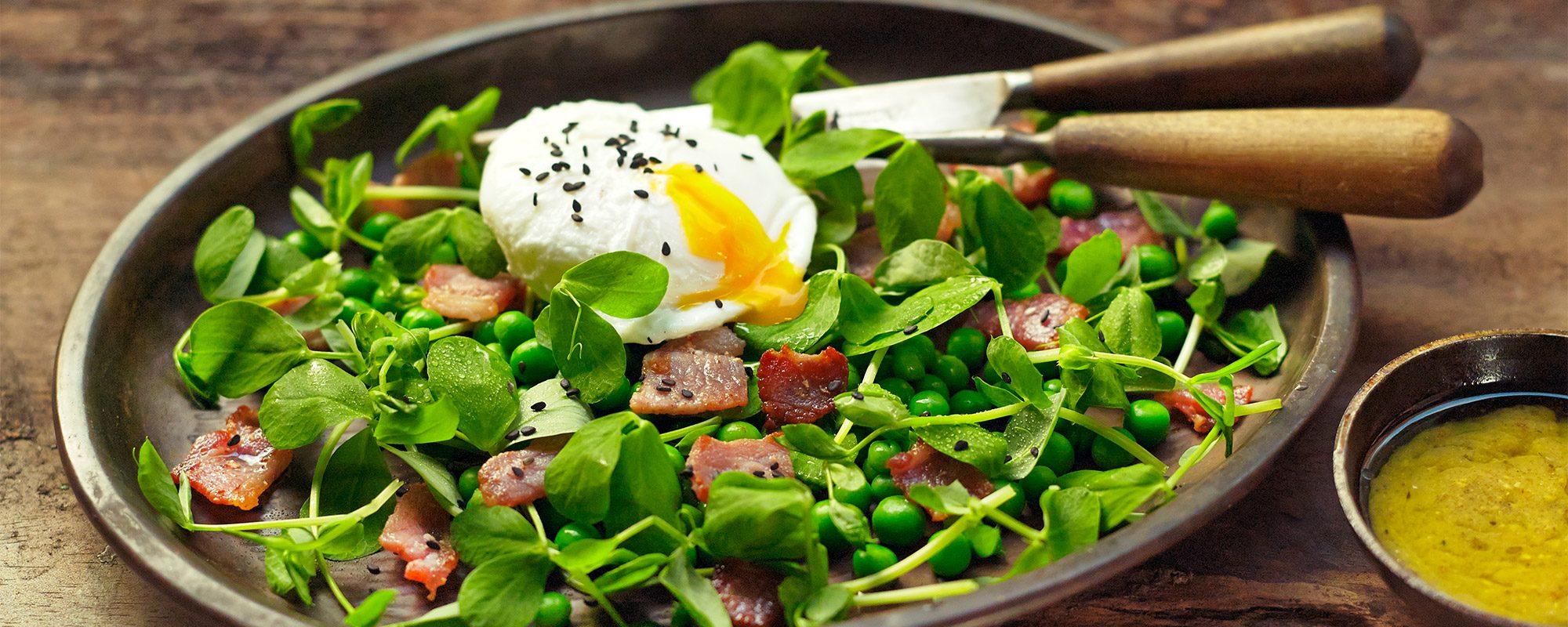 Pea Shoots Salad by John
