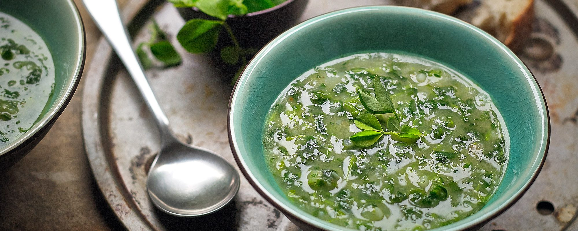 Pea Shoots Soup