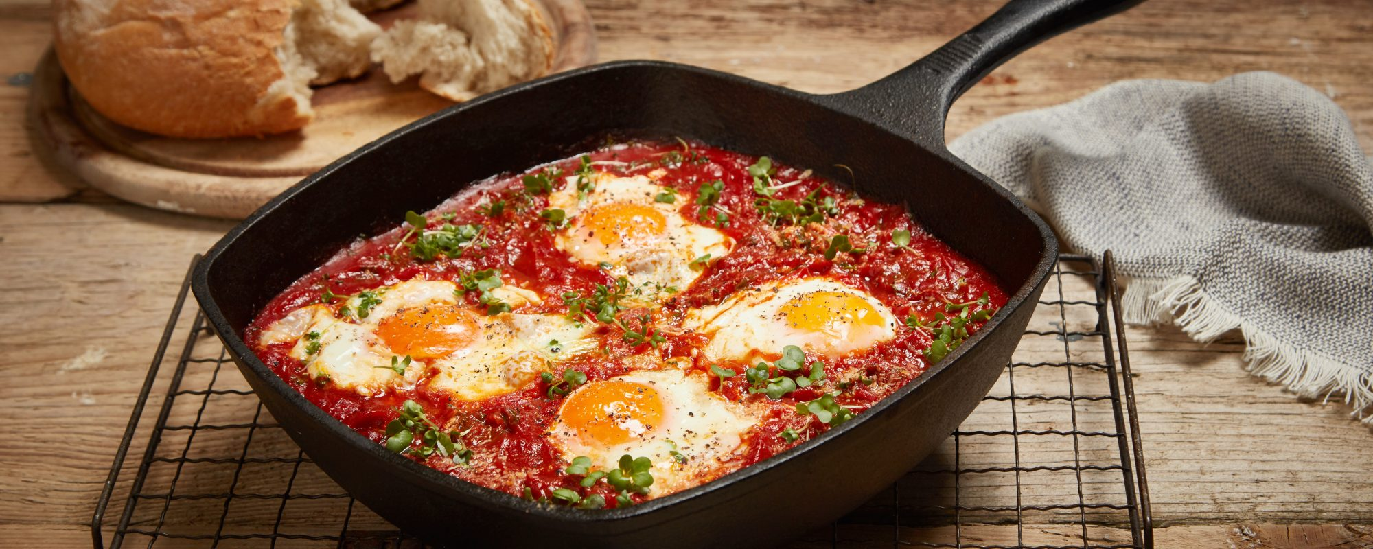Shashuka Eggs