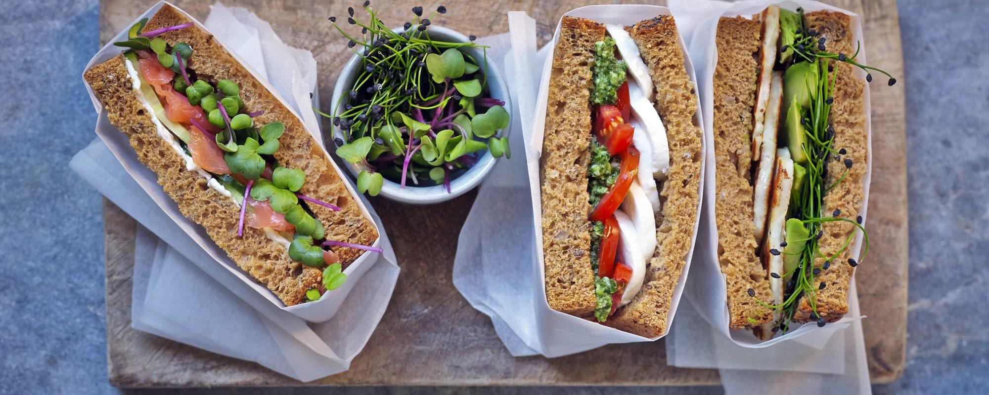 Wonderful Colourful Sandwich-full